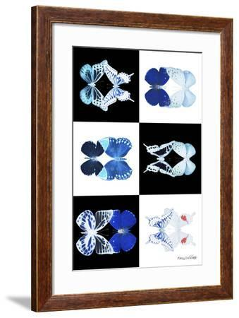 Miss Butterfly Duo X-Ray-Philippe Hugonnard-Framed Photographic Print
