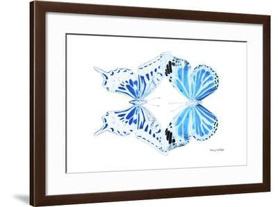 Miss Butterfly Duo Xugenutia - X-Ray White Edition-Philippe Hugonnard-Framed Photographic Print