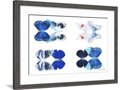 Miss Butterfly X-Ray Duo White III-Philippe Hugonnard-Framed Photographic Print