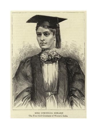 Miss Cornelia Sorabji--Giclee Print