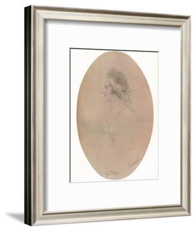 Miss De Camp, 19th century, (1923)-John Hayter-Framed Giclee Print