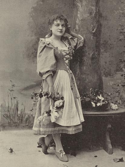 "Miss Dorothy Vane, in ""Haddon Hall""--Photographic Print"