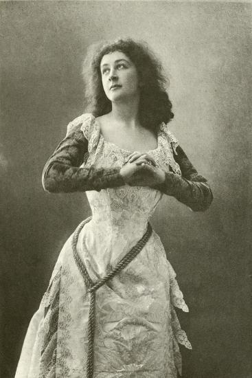 Miss Eames as Juliet--Giclee Print
