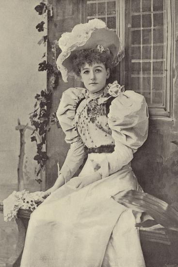 "Miss Ethel Haydon, as Alice in ""Dandy Dick Whittington""--Photographic Print"