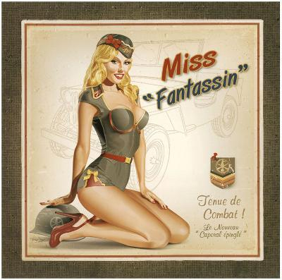 Miss Fantassin-Bruno Pozzo-Art Print