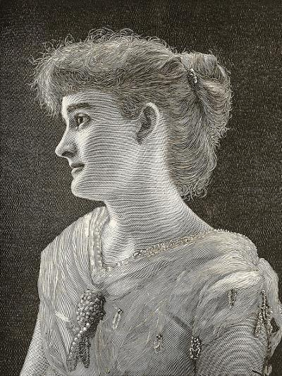 Miss Florine Ross, Daughter of the Governor of Texas at Age 19--Giclee Print