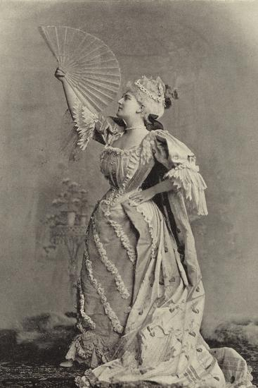Miss Fortescue, as Lady Teazle--Photographic Print