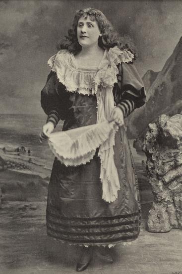 "Miss Georgina Preston, as Polly Perkins in ""Robinson Crusoe,"" Grand Theatre, Islington--Photographic Print"