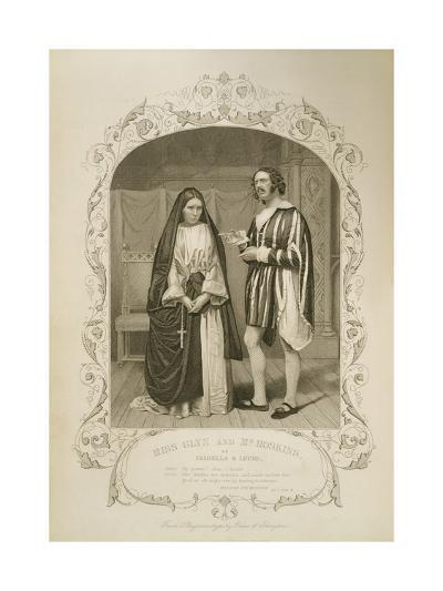 Miss Glyn as Isabella and Mr Hoskins as Lucio--Giclee Print