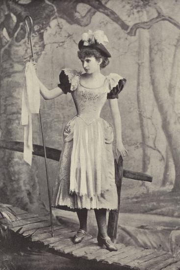 "Miss Irene Iris, as Little Bo Peep, in ""Red Riding Hood,"" Gaiety Theatre, Dublin--Photographic Print"