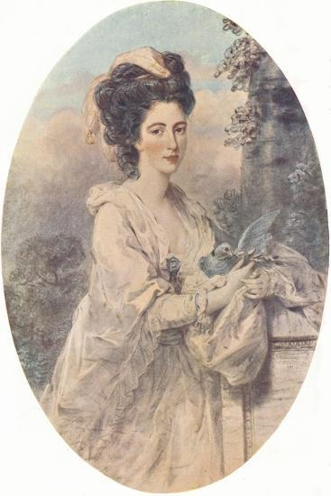 Miss Isabella Hunter, 1781, (1907)-John Downman-Giclee Print