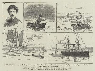 Miss Journeaux's Perilous Adventure at Sea--Giclee Print