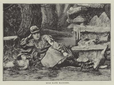 Miss Kate Marsden--Giclee Print