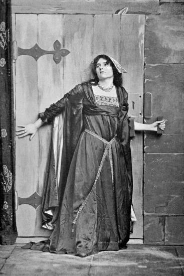 Miss Kitchener as Kate Douglas, 1911-1912- Frederick & Sons Downer-Giclee Print