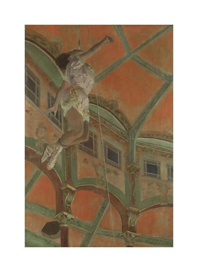Miss La La at the Cirque Fernando, 1879-Edgar Degas-Premium Giclee Print