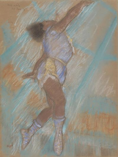 Miss Lala at the Cirque Fernando-Edgar Degas-Giclee Print