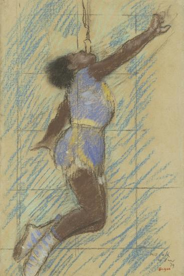 Miss Lala at the Fernando Circus, 1879-Edgar Degas-Giclee Print