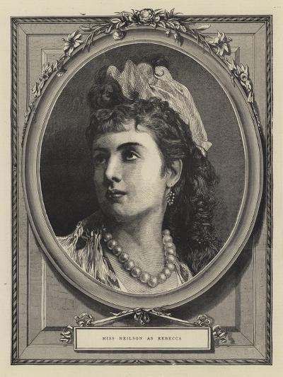 Miss Neilson as Rebecca--Giclee Print