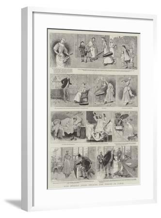 Miss Neruda Jones Studies the Violin in Paris-Adrien Emmanuel Marie-Framed Giclee Print