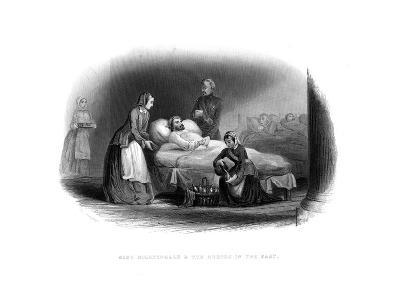 Miss Nightingale and the Military in the East, C1860--Giclee Print
