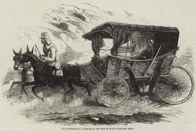 Miss Nightingale's Carriage at the Seat of War--Giclee Print