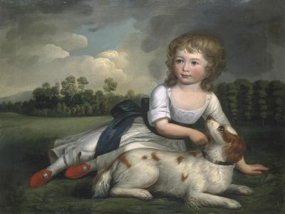 Miss Ramsden and Her Dog, c.1800--Giclee Print