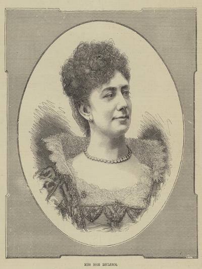 Miss Rose Leclercq--Giclee Print