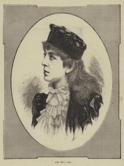 Miss Sibyl Grey--Giclee Print