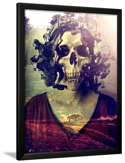 Miss Skull-Ali Gulec-Framed Art Print