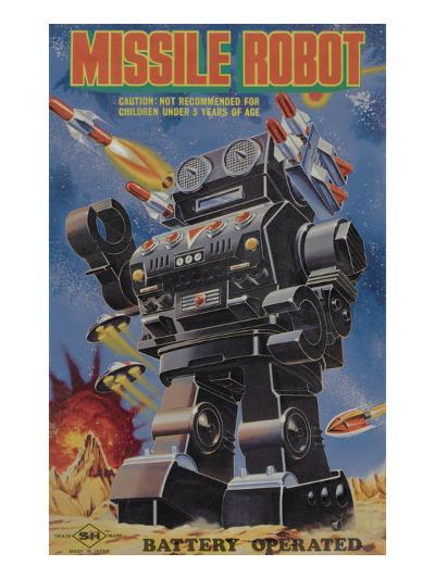 Missile Robot--Art Print