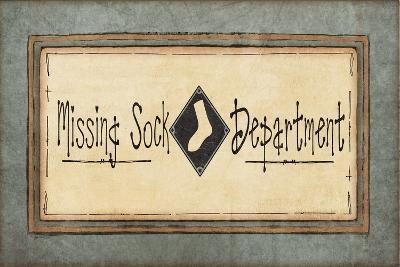 Missing Sock Dept.-Jo Moulton-Art Print