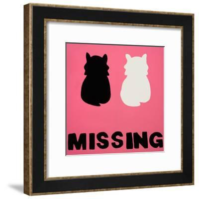 Missing- Tate Sisters-Framed Giclee Print