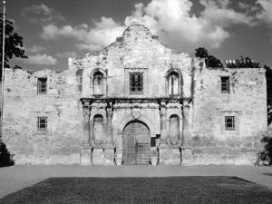Mission San Antonio De Valero, also known as the Alamo. 1961