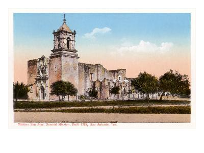 Mission San Jose, San Antonio, Texas--Art Print