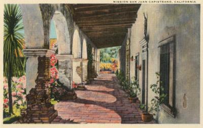 Mission San Juan Capistrano, California