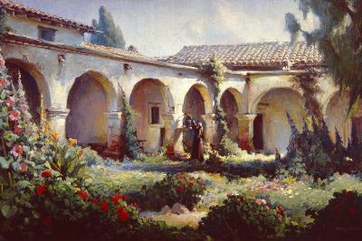 Mission San Juan Capistrano-Charles Austin-Art Print