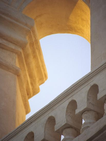 Mission San Xavier Del Bac, Tucson, Arizona, USA-John & Lisa Merrill-Photographic Print