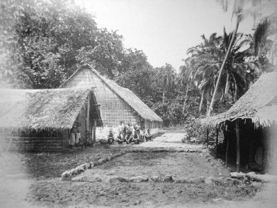 Mission, Ureparapara, Torba Province, Vanuatu, 1885--Giclee Print