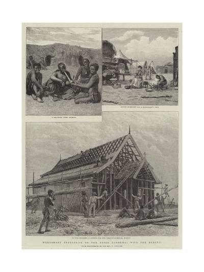 Missionary Enterprise on the Upper Zambesia, with the Barotsi--Giclee Print