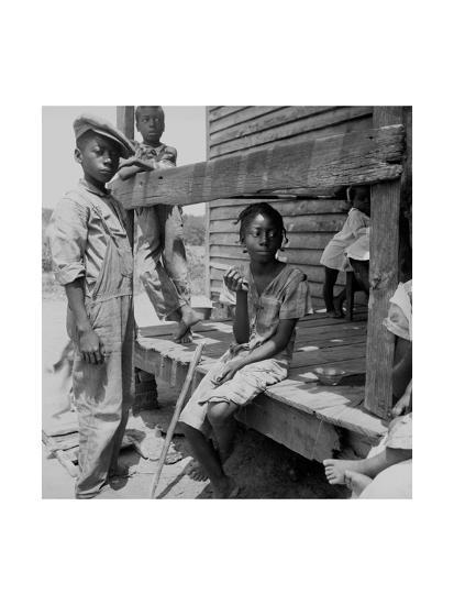 Mississippi Delta Negro Children-Dorothea Lange-Art Print