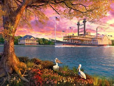 Mississippi Queen-Dominic Davison-Art Print