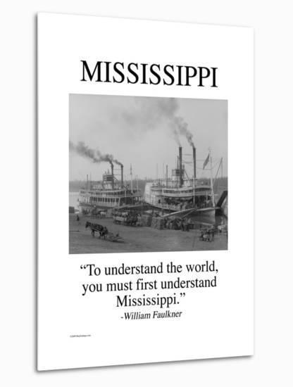 Mississippi-Wilbur Pierce-Metal Print
