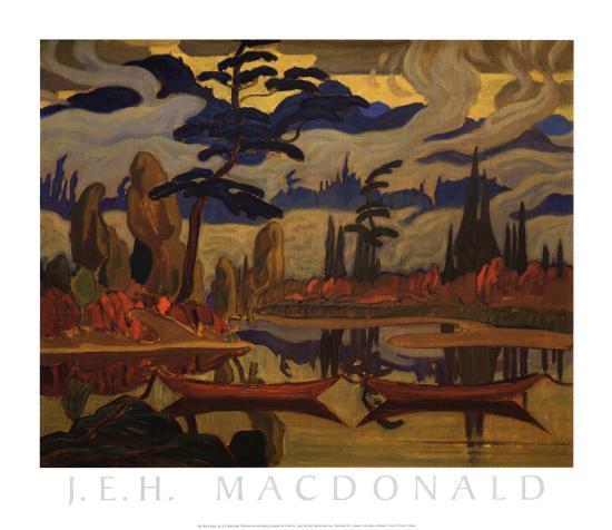 Mist Fantasy Art Print By J E H Macdonald Art Com
