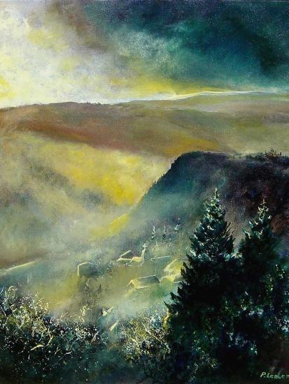 Mist in Frahan-Pol Ledent-Art Print