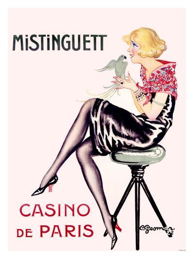 Mistinguett, Casino de Paris-Charles Gesmar-Giclee Print