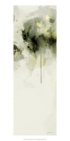Misty Abstract Morning II-Green Lili-Art Print