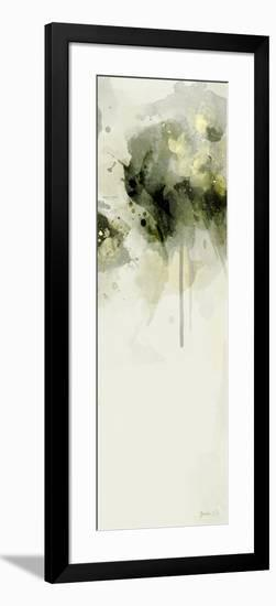 Misty Abstract Morning II-Green Lili-Framed Art Print