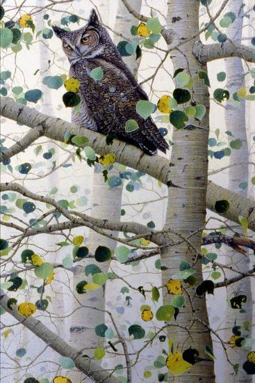 Misty Aspen-Jeff Tift-Giclee Print