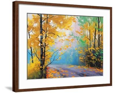 Misty Autumn Day Art Print Graham Gercken Art Com