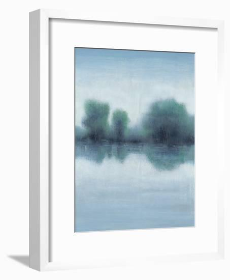 Misty Blue Morning I-Tim OToole-Framed Art Print